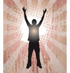 human soul vector image vector image