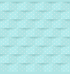 dark blue background with white dots and shadows vector image