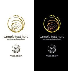 logo handmade soap bubbles vector image