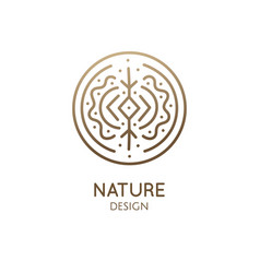 sacred abstract nature vector image