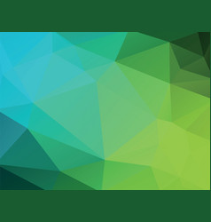 simple green blue geometric texture vector image