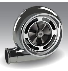Turbo compressor vector