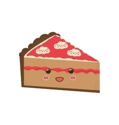 delicious Cake dessert vector image vector image