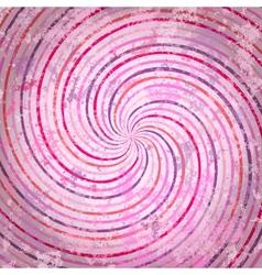 Pink swirls background vector