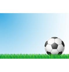 Sports grass field 01 vector