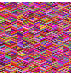 abstract geometric retro colorful background vector image