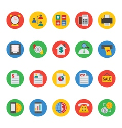 Business and Finance Icons 6 vector image
