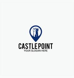 Castl point logo vector
