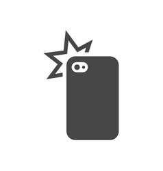 cellphone photo camera icon simple car sign vector image