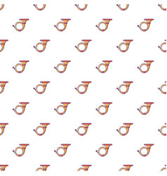 Cornet pattern seamless vector