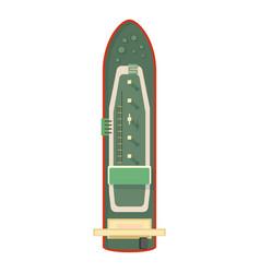 Cruiser icon cartoon style vector