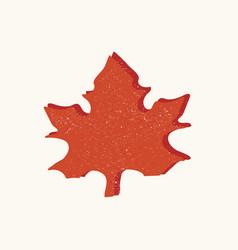 Hand drawn leaf vector