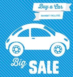 Sale Car Design vector image
