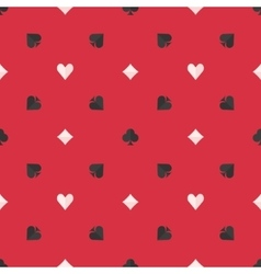 Seamless poker pattern vector