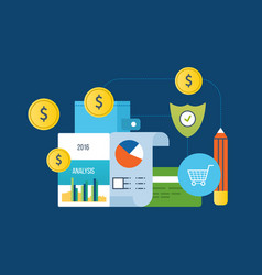 Analysis protection payments planning online vector