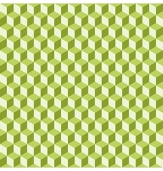 Cube seamless background vector image vector image