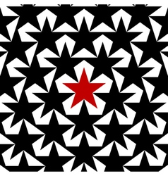 Background of stars vector image vector image