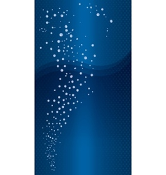 Abstract blue background - abstract series vector