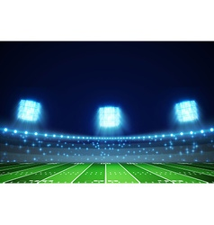 american football field eps 10 vector image