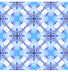 Blue background weave pattern vector