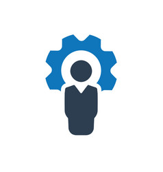 Business service icon vector