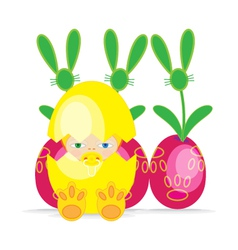 Easter Baby BEGG2 vector