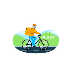 home delivery fast receipt your order vector image