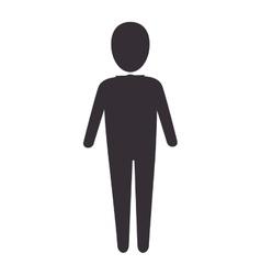 human man model vector image