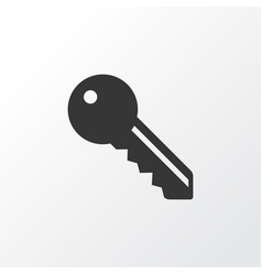 key icon symbol premium quality isolated lock vector image