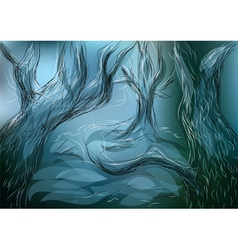 Lost forest vector