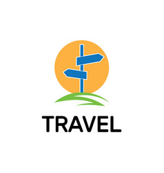 Map point location logo pin travel symbol vector