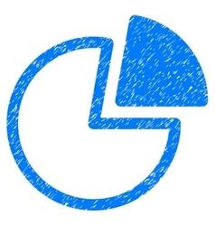 Pie Charts Grainy Texture Icon vector