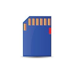 Sim card design vector