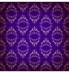 vintage seamless with arabic pattern vector image