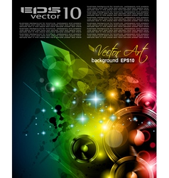 Disco Poster vector image vector image