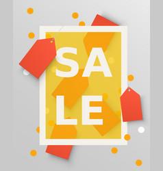 sale labels design elements vector image vector image