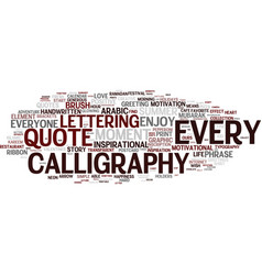 Every word cloud concept vector