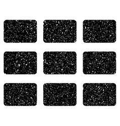 Rectangles Grid Grainy Texture Icon vector