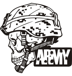 US Army Military Design vector