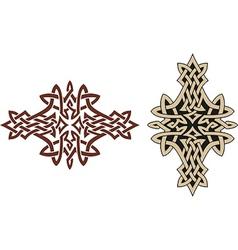 Celtic tattoo design vector image