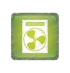 fan machine icon vector image