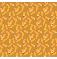 Pencil pattern2 vector image vector image