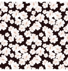 Seamless elegant pattern with flowers roses vector image vector image