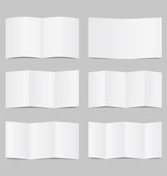 brochure templates vector image
