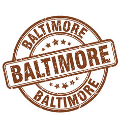 Baltimore stamp vector