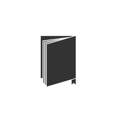 book icon graphic design template isolated vector image
