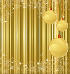 Christmas stripes and decorations vector image