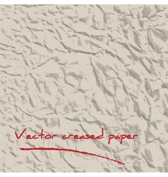 Created paper background vector image