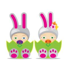 Easter Baby GBBUNN2 vector