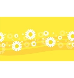 Flower spring backgrounds vector